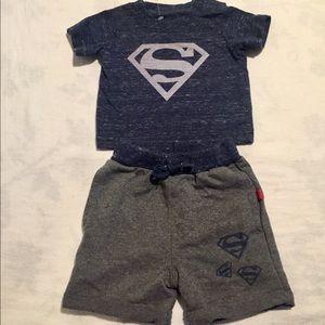 Superman newborn set